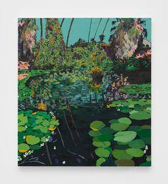 Echo Park Lake 2018 Acrylic on canvas 40 x 36 inches San Francisco Art, Library Art, Living In La, New York Art, Museum Of Modern Art, Art Fair, Art Techniques, Artist At Work, Art World