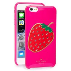 Kate Spade Embellished Berry IPhone 6 Plus Case perfect condition never used :) kate spade Accessories Phone Cases