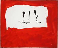 Robert Motherwell - Untitled (Phoenician Red) (M76-9)   1stdibs.com