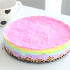 An easy, and strikingly colorful way to enjoy cheesecake.