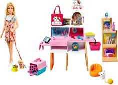 Mattel Barbie, Barbie Sets, Barbie Doll Set, Barbie House, Barbie Doll Stuff, Accessoires Barbie, Barbie Playsets, Chelsea Doll, Pets