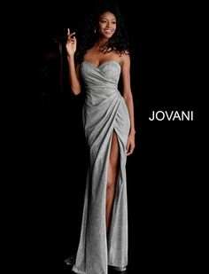 Jovani Prom 67103 2020 Prom Dresses, Pageant, Homecoming and Formal Dresses Metallic Prom Dresses, Fitted Prom Dresses, Strapless Prom Dresses, Strapless Sweetheart Neckline, Sweetheart Prom Dress, Jovani Dresses, Prom Dresses For Sale, Designer Prom Dresses, Tulle Prom Dress