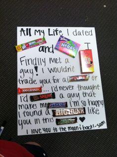 gift ideas for boyfriend | Gift for the boyfriend(: | Cute Gift Ideas by cheryl