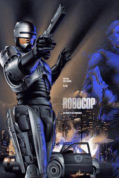 Mondo Poster for Robocop