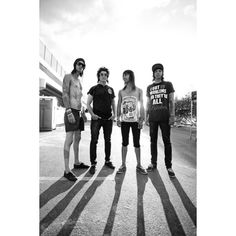Things I love ❤ liked on Polyvore featuring bands, pierce the veil, people, pictures and black and white