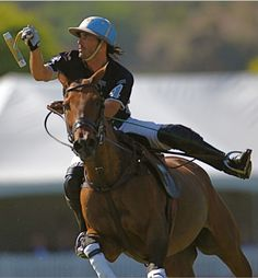 Cambiaso 3..coolest photo..shows just how much balance is needed..look at his stick