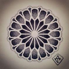 Znalezione obrazy dla zapytania tattoo mandala