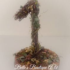 Woodland Twig number, Australian native birthday decoration, wooden centrepiece table number, eucalyptus flowers, woodland boho weddings These beautiful, handmade, Australian native table numbers would make perfect decor for a rustic woodland themed wedding or a special birthday The numbers are