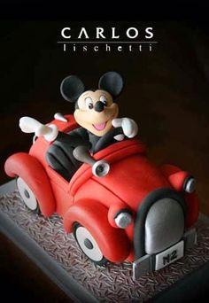 Mickey en un viaje de placer / Mickey de paseo