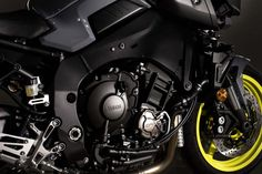 Yamaha announced it will offer the in Canada, bringing it over under the name as an early 2017 model. Mt 10, S1000r, Yamaha Mt, Combustion Chamber, Bmw S, Final Drive, Shocking News, Sportbikes, Paint Schemes