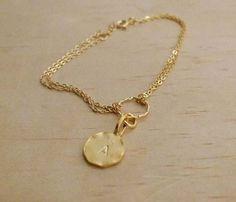 Initial Letter Bracelet - Favorites - Shops Uncovet