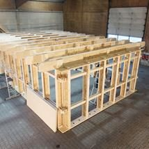 SI-modular wood framing system
