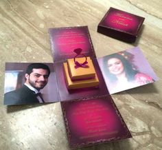 Extra's Invites n More Delhi - Review & Info - Wed Me Good Indian Wedding Invitation Cards, Indian Wedding Cards, Indian Wedding Invitations, Creative Wedding Invitations, Indian Weddings, Wedding Goals, Wedding Events, Wedding Planning, Marriage Cards