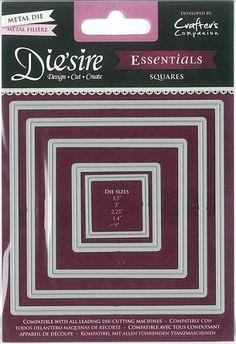 Die`sire Essentials Dies - Squares
