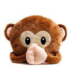 Monkey!!! Super soft plush, absolutely lush! 🙊 #homedecor #homeware #monkey #cushion #emoji #decor