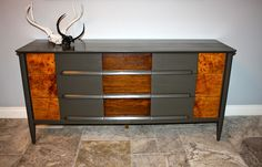 SW Urban Bronze paint and shellac and Arm R Seal on wood areas