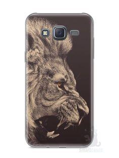 Capa Samsung J5 Leão Feroz - SmartCases - Acessórios para celulares e tablets :)