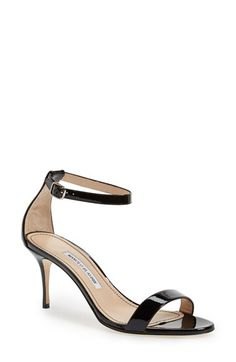 Manolo Blahnik Manolo Blahnik 'Chaos' Ankle Strap Sandal (Women) available at #Nordstrom