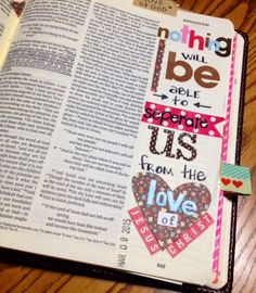 A Day in the life of a Country Mouse: journaling bible