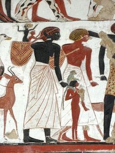 Wouldn't it be nice if you could research ancient people without getting tangled up with white supremacists (who insist that all the great ancient civilisations were white) and black supremacists (who insist that all the great ancient peoples were black) ... the Egyptians were well aware that - shock horror - there can be a number of different skin colours in a single civilisation