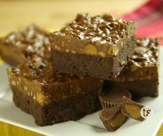 Gluten-Free Peanut Butter Crunch Brownies Recipe | Tastefully Simple