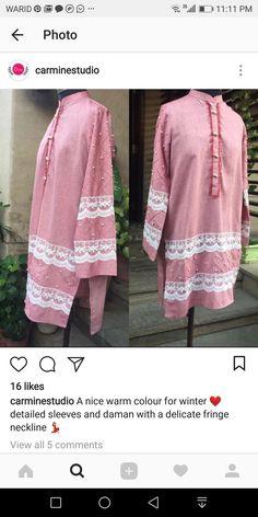 Simple Kurta Designs, Stylish Dress Designs, Stylish Dresses For Girls, Kurta Designs Women, Simple Dresses, Casual Dresses, Pakistani Dresses Casual, Pakistani Dress Design, Casual Work Attire