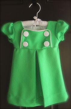 2nd Story Sewing: Little Green Junebug Dress