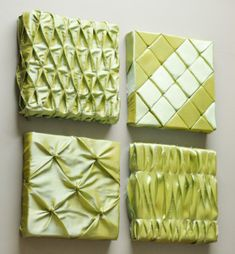 This Easy Fabric Wall Art tutorial from Fairfield will teach you some easy sewing techniques to create elegant, professional-quality wall art for your home. With these step-by-step instructions, you can easily create 3-dimensional effects such as waves and tufting. #NationalSewingMonth