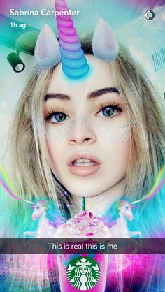 Sabrina Carpenter Snapchat @esoccerstar5