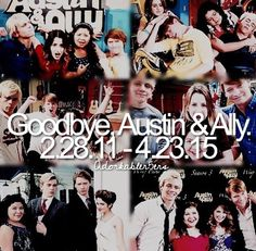 We'll miss you guys more than anything! We love you ♡♡ #AustinAndAlly... This show is so amazing... I just... I'm gonna miss it so freaking much