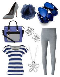 """""""Casual Outfit 18"""" by kristen-gregory-sexy-sports-babe ❤ liked on Polyvore"""