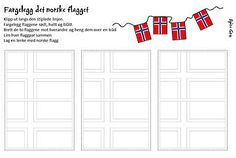 Naturfagserie for barn May National Days, Diy And Crafts, Crafts For Kids, Constitution Day, My Job, Norway, Red And White, Flag, Bullet Journal