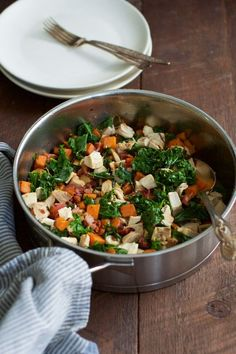 This Sweet Potato Chicken Kale Skillet is one-pan meal that will be on your dinner table in less than 30 minutes. It is also gluten-free and paleo friendly.