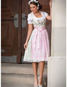 Dirndl mint von Alpenherz Dirndl Dress, German Fashion, Lovely Dresses, Mint, Traditional Dresses, Gold Bullion, Summer Dresses, Wedding Dresses, Sexy