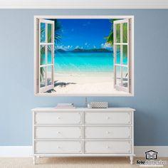 Vinilo decorativo Playa en el Caribe