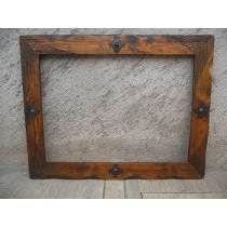 Espejos con marco de madera pinterest buscar con google for Marcos para espejos de madera rusticos