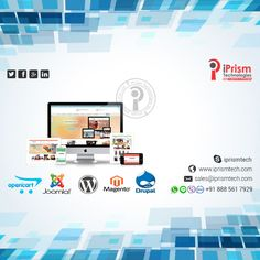 Let your new look attract more customers..!! Let us bring new life to your site..!! iPrsim Technologies gives you leading services in Website design and development.Approach us for further details on mob:+918885617929 or sales@iprismtech.com. visit--https://goo.gl/KzMxOR #iprismtechnologies #bestwebsitedevelopment #ecommercesites #bestservices #bestteam