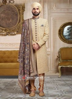 Don't Just Pin Get It In Your Wardrobe. Jayashree Garments We Build Custom Bespoke As Well As Made to Measure Garments Suits, Blazer's, Royal Sherwanis And Our Speciality Is Mass Production Of School/College's Uniforms Sherwani Groom, Mens Sherwani, Wedding Sherwani, Wedding Dresses Men Indian, Wedding Dress Men, Wedding Men, Wedding Attire, Wedding Ideas, Engagement Dress For Groom