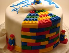 sick lego cake