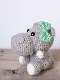 Create your own adorable little hippo in just a few hours! This easy-to-follow pattern includes one PDF file with detailed instructions on how to crochet and assemble all the parts to make this little hippo.