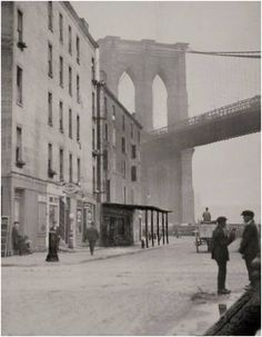 #Brooklyn Bridge, New York 1921