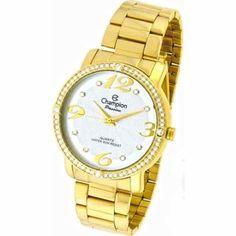 958db2847c6 relógio champion feminino dourado Relógio Champion Feminino