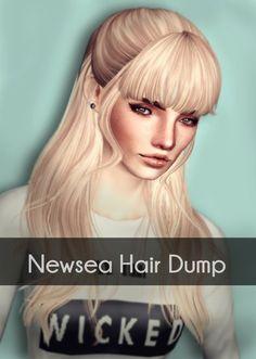 Newsea`s hair dump by Magically Delicious for Sims 3 - Sims Hairs - http://simshairs.com/newseas-hair-dump-by-magically-delicious-2/