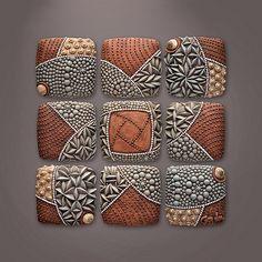 Pinwheel Pattern ceramics by Chris Gyrder