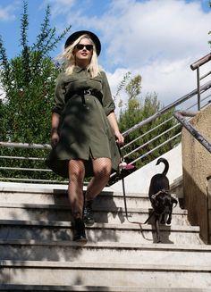 i Mikri Ollandeza & Chili Military Dresses, Shirtdress, Billie Eilish, Bradley Mountain, Ariana Grande, Youtubers, My Girl, Chili, Stylists