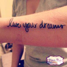 live your dreams  @wesbrownart
