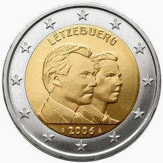 2 euro Luxembourg 2006, 25th birthday of Grand Duke Guillaume, heir to the throne