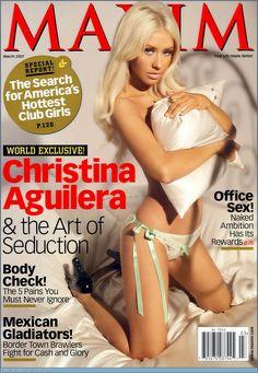 Christina Aguilera for Maxim | www.piclectica.com #piclectica #ChristinaAguilera #Maxim