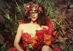 """A garden pose """"flower girl"""""""