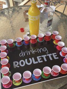 Diy Party Games, Adult Party Games, Adult Party Ideas, Party Ideas For Adults, Drinking Games For Parties, Halloween Drinking Games, Team Drinking Games, Outdoor Drinking Games, Party Stuff